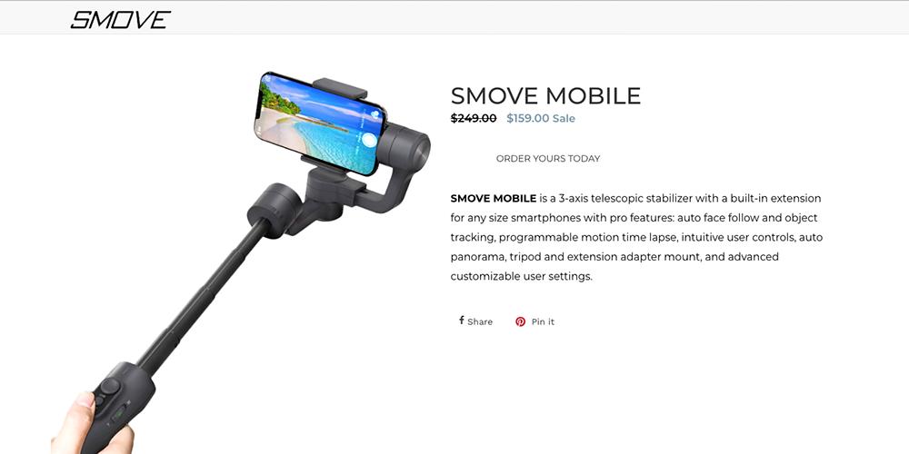 Smove Mobile Handy Stabilisator